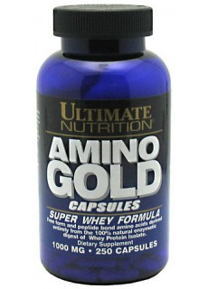 Ultimate Amino Gold Capsules 1000, 250 капс