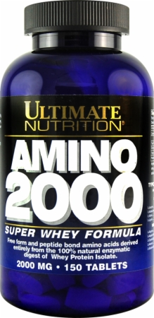 Ultimate Super Whey Amino 2000, 150 таб