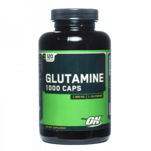 ON Glutamine Caps 1000, 120 капс