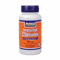 NOW Inositol, 100 капс