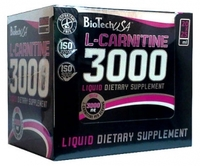 BioTech L-Carnitine 3000 mg, 25 мл (ампула)