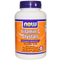 NOW Vitamin C Crystals (Витамин C в порошке), 227 гр