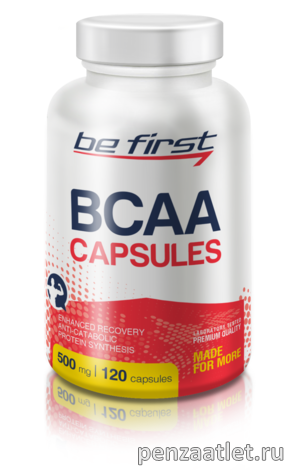 Be First BCAA Capsules, 120 капс