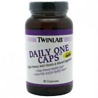 Twinlab Daily One Caps (w/o iron), 90 капс