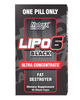 Nutrex Lipo 6 Black Ultra Concentrate, 60 капс