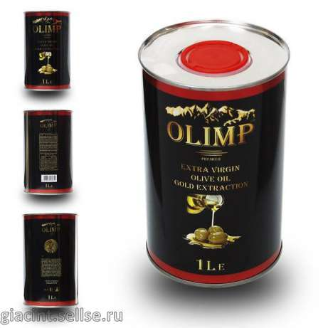 Оливковое масло Olimp Extra Virgin Olive Oil Gold Extraction