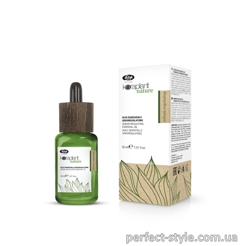 Себорегулирующее масло Keraplant Nature Sebum-regulating Essential Oil Lisap, 30 мл