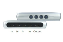 Switch hdmi 4 in 1 out
