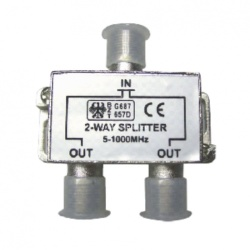 Splitter * 2 way (H.Q)
