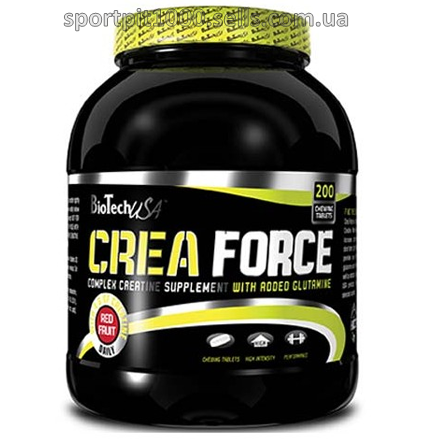 BioTech USA   Crea Force   200 tabs.