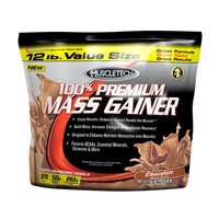 MuscleTech  100% Premium Mass Gainer  12 LB./5440 g.
