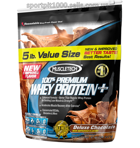 MuscleTech  100% Premium Whey Protein +      2270 г.
