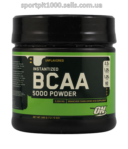 Optimum Nutrition  Instantized  BCAA 5000  Powder     336 g.