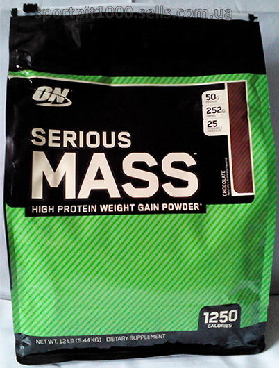 Optimum Nutrition    Serious Mass    5450 g./12lb.