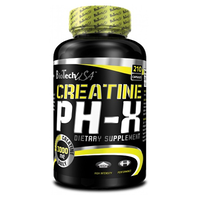 BioTech USA Creatine pH-X 210 капc. NEW