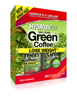 HYDROXYCUT   100% Pure Green Coffee     100 caps.