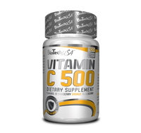 BioTech USA    Vitamin C 500 chewing   120 tab.