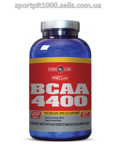 Form Labs       BCAA 4400        200 таб.