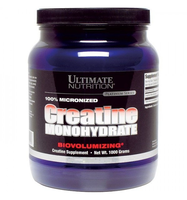 Ultimate Nutrition  100% Micronized Creatine Monohydrate  1 kg.