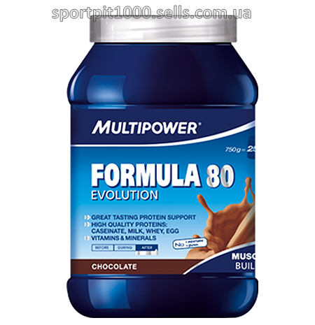 Multipower        Formula 80 Evolution            750 г.