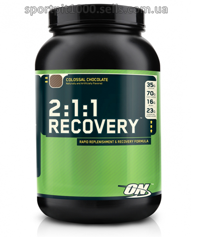 Optimum Nutrition   2:1:1 Recovery    1,7 kg.- 3.73 lbs.