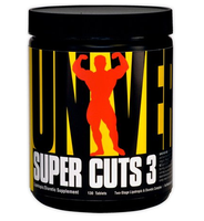 Universal Nutrition     Super Cuts 3         130 tab.