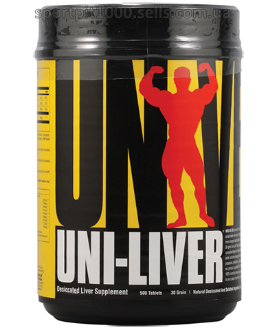 Universal Nutrition   Uni-Liver      500 tabs.
