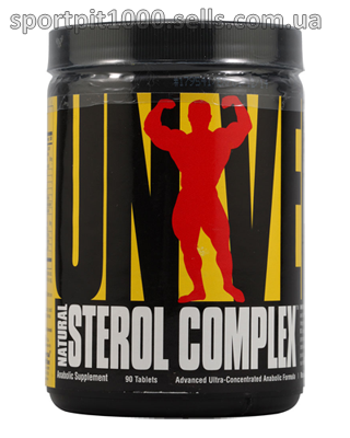 Universal Nutrition     Natural Sterol Complex      90 tab.
