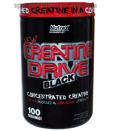Nutrex          Creatine Drive Black      300 g./ 10,58 oz.