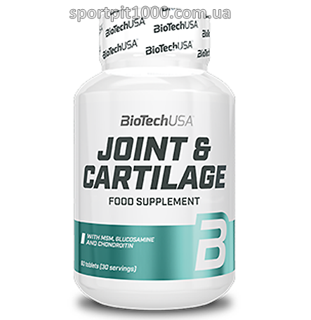 BioTech USA   JOINT&CARTILAGE     60 tab.