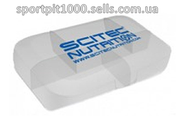 Scitec  Nutrition        Pill box           white with Scitec logo