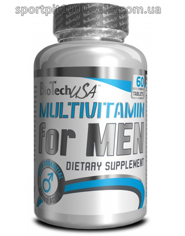 BioTech USA            Multivitamin for Men           60 tabs.