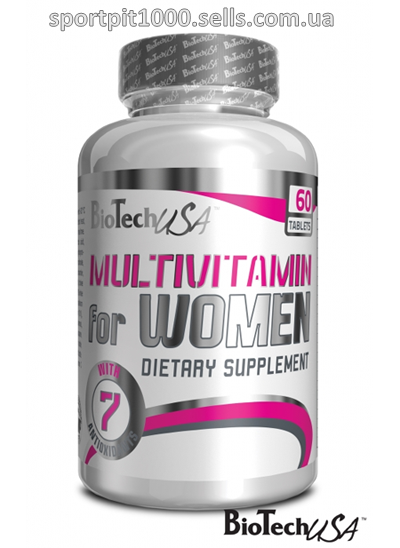 BioTech USA  Multivitamin for Women  60 таб.