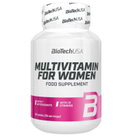 BioTechUSA   Multivitamin for Women   60 tab.