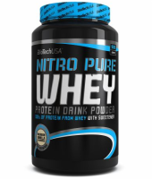 NEW ! BioTech USA Nitro Pure Whey 908 g .