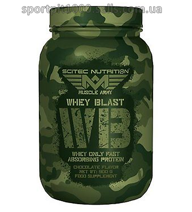 Scitec Nutrition           Muscle Army Whey Blast         900 g.