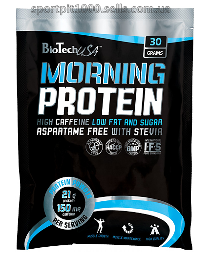 BioTech USA     MORNING PROTEIN     30 g.- stake
