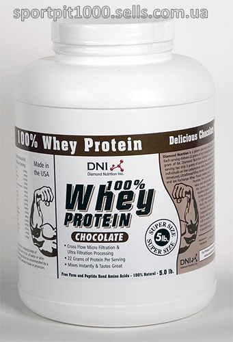 DIAMOND NUTRITION  100% WHEY PROTEIN 2270 gr. -5 LBS