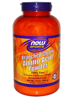 NOW  Sports     Branched Chain Amino Acid Powder       340 g/ 12 oz.