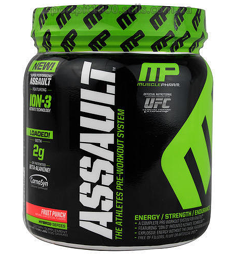 MusclePharm     Assault     435 g.
