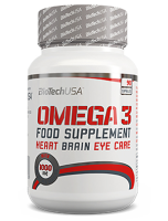 BioTech USA       Omega 3	            90 soft gel caps.