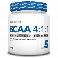 NUTRICORE          BCAA 4:1:1	    500 g.