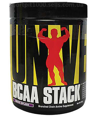 Universal  Nutrition       BCAA STACK250 g.
