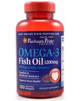 Puritan's Pride     OMEGA-3 Fish oil 1200 mg.    100 softgels