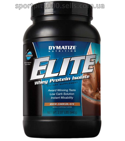 Dymatize Nutrition    Elite Whey Protein Isolate   907 g./ 2 lbs.