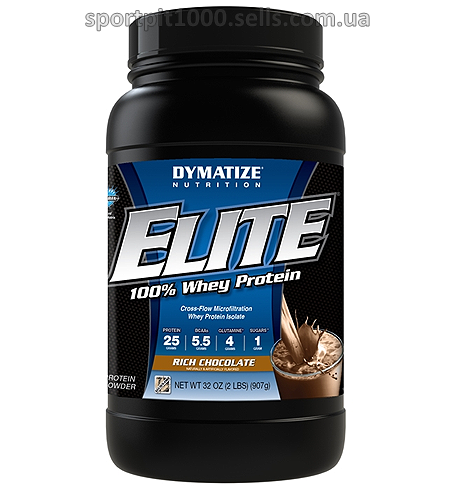 Dymatize  Nutrition      Elite 100%Whey Protein    2 lbs./ 907 g.