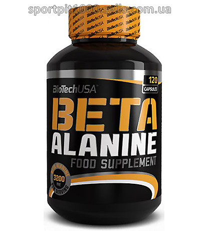 BioTech USA           Beta  Alanine	             120 caps.