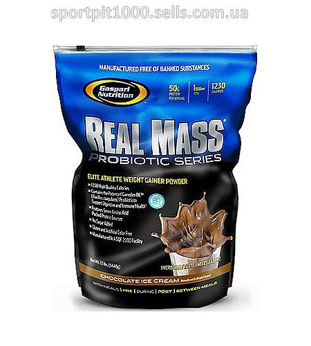 Gaspari Nutrition   Real Mass Probiotic Series  5450 гр.