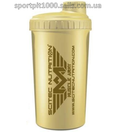 Shaker   SciTec MUSCLE ARMY DESERT  700 ml.