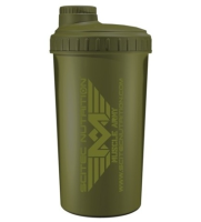 Shaker SciTec MUSCLE ARMY GREEN  700 ml.